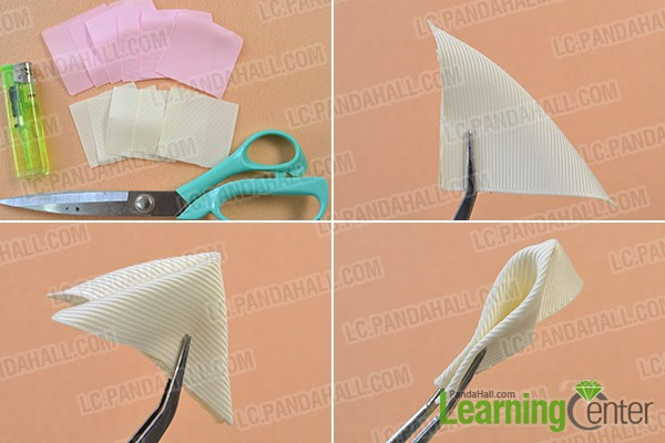 tep1:Prepare the base part of the hair clip