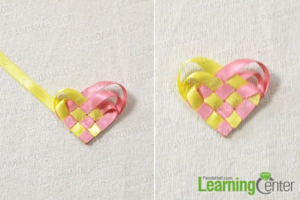 make a ribbon heart3