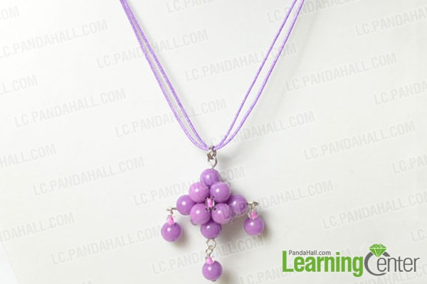 attaching pendant to necklace with head pins or eye pins