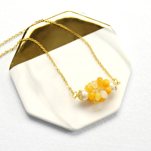 PandaHall Ideas on Making a Jade Pendant Necklace