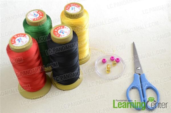 materials for making easy friendship bracelet
