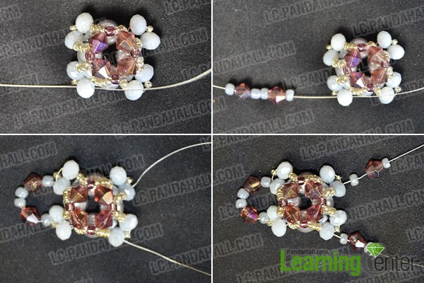 How to Make Bead Wedding Pearl Jewelry Sets With Seed Beads by Your Own Hands 4