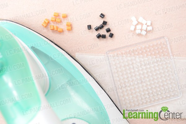 Materials on how to make your own perler bead pattern