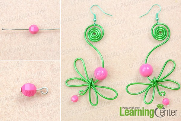 finish how to wire wrap earrings