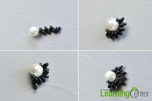 Make a basic bead pattern