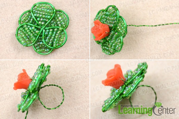 Finish making wire wrapped rings