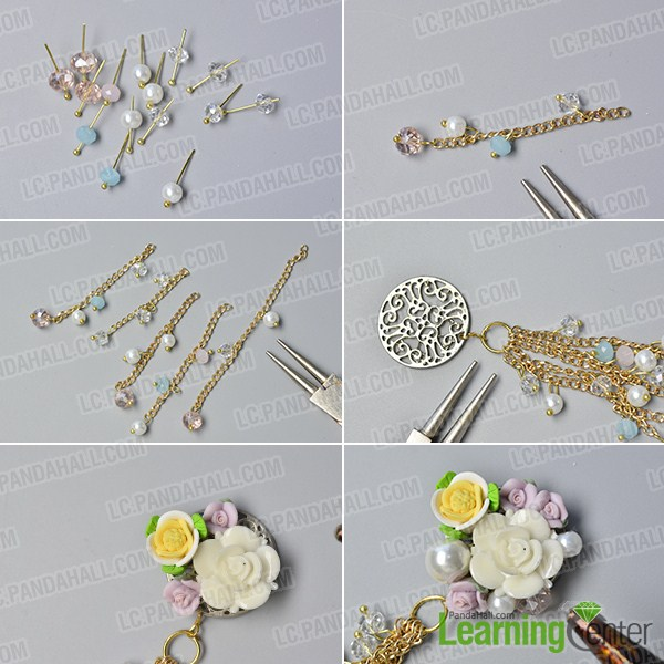 how to make a flower chain