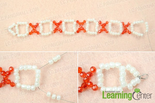 Finish simple seed bead bracelet patterns