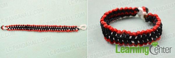 square knot macrame bracelet