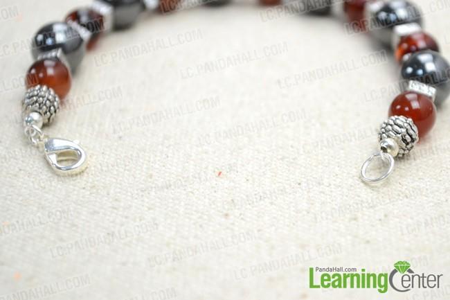 Step 2: Finish the mala bracelet