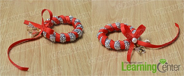 wrap red ribbon