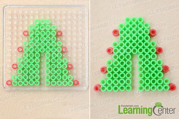 make basic 3d hama bead designs