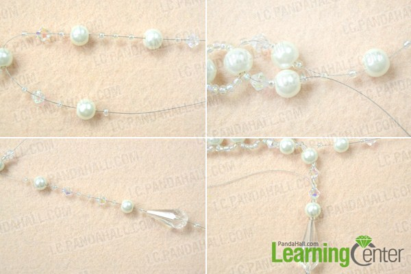 Instruction on making choker necklace for wedding