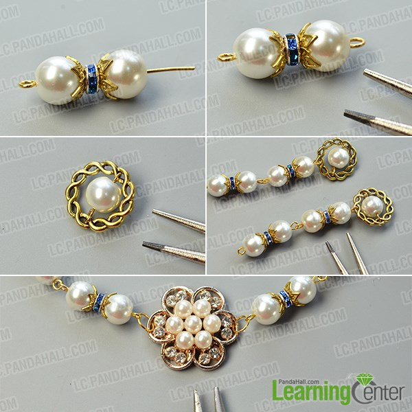 Make a basic bead link pattern