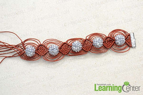 get a desired length for your bracelet