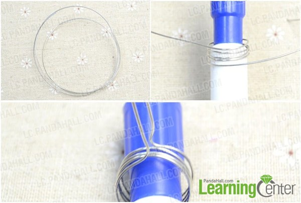 make ring circles of the button ring