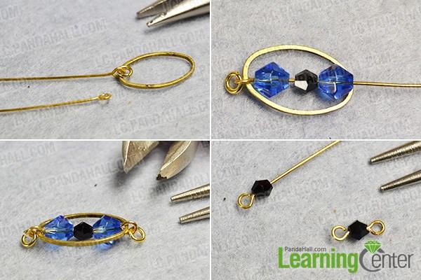 Make a basic bead link pattern