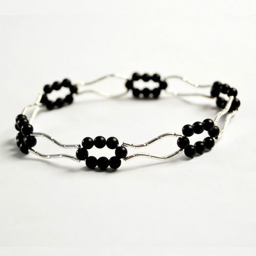 PandaHall Tutorial on Making a Tube Beads Bangle