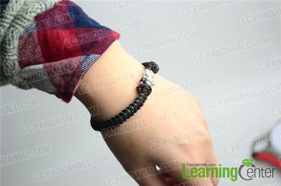 how to make bracelets with string for guys