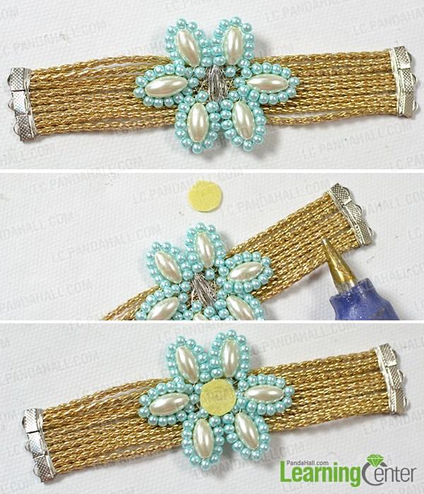 Comment faire un bracelet de perles de fleur la maison for Utiliser un pistolet a colle