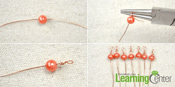 make the beads for fringe necklace