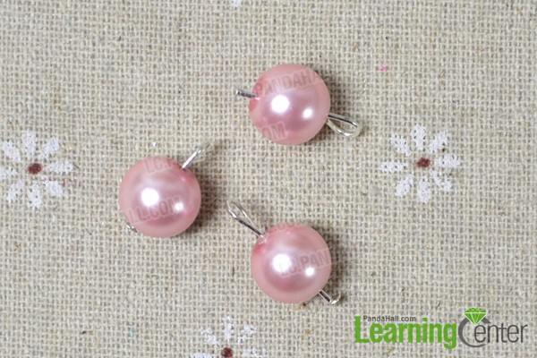 make another 2 bead dangles