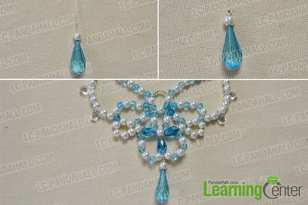 How to Make a Beaded Butterfly Charm Statement Necklace 8