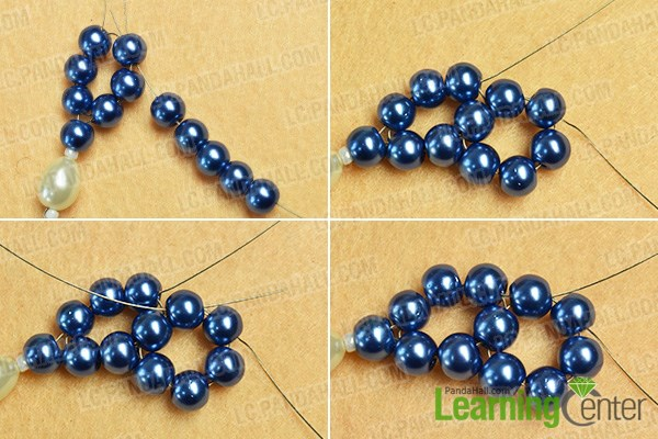 Make another beaded loop