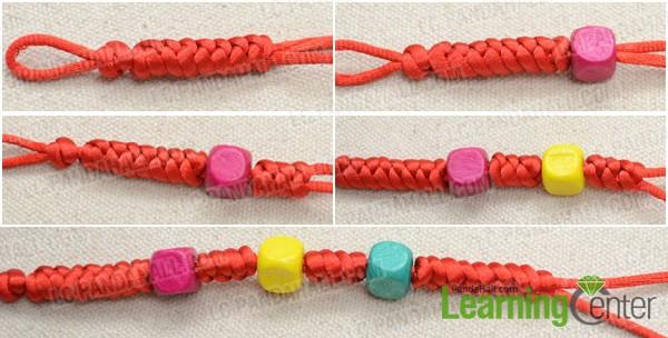 Macrame bracelet patterns-making chinese snake knot bracelet with.