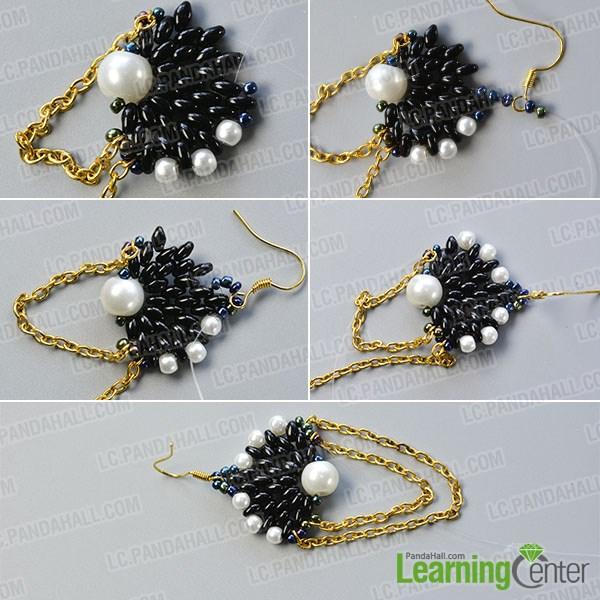 Finish the bead pattern