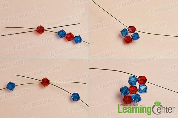 Make the basic bead units