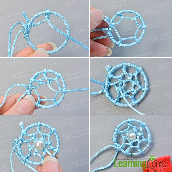 Dream catcher bracelet diy images for How to make dream catchers easy