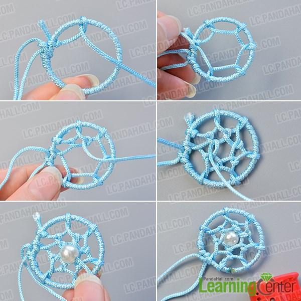 Dream catcher bracelet diy images for How to make dreamcatchers