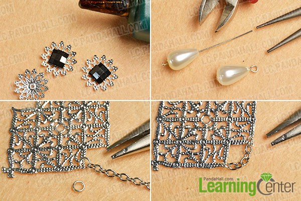 Make other basic patterns for the brooch