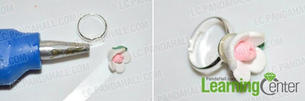 Make polymer clay ring