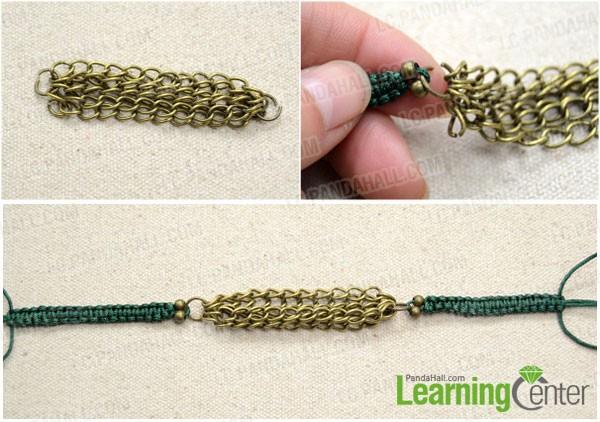attach the chain segments