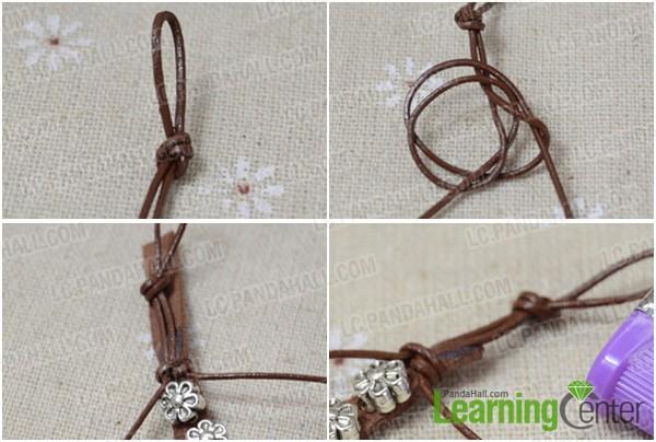 Step 2: Make a loop before braiding