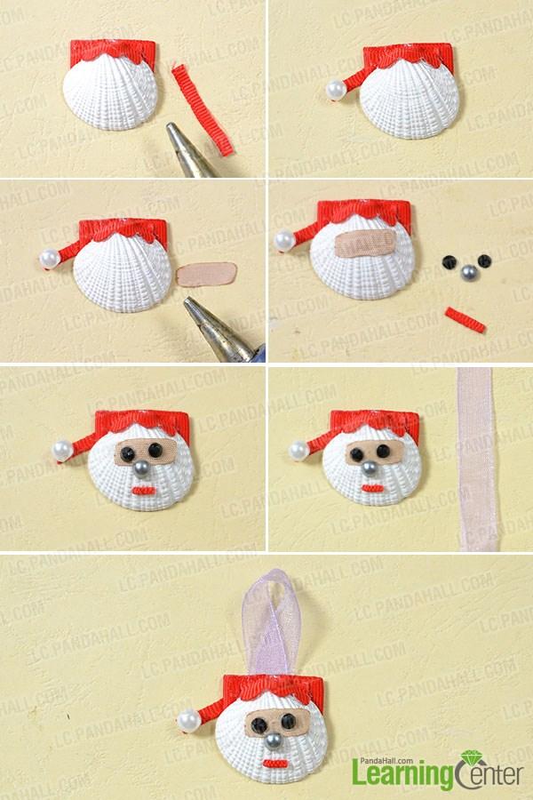 Make the first shell Santa Claus