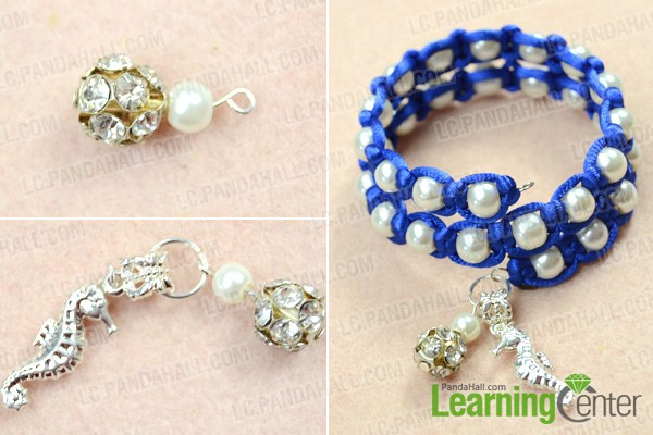 finish  how to make beaded bracelets with memory wire