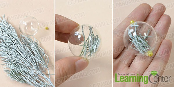 make the rest part of the glass bead plant home décor crafts
