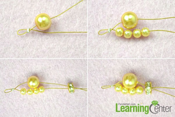 diy the bead chain for pearl bracelet for wedding
