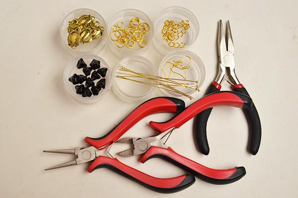 You need prepare before making the Halloween earrings