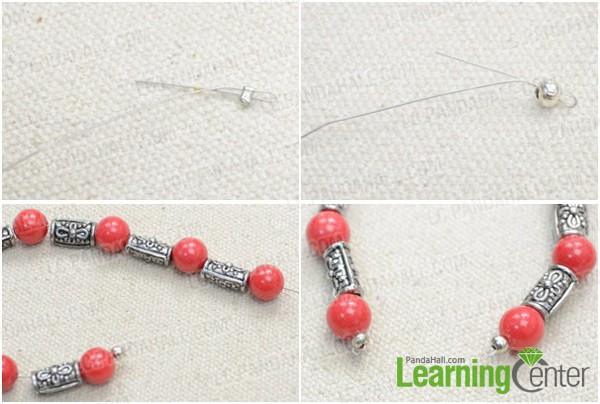 Step 1: Bead rosary bracelet
