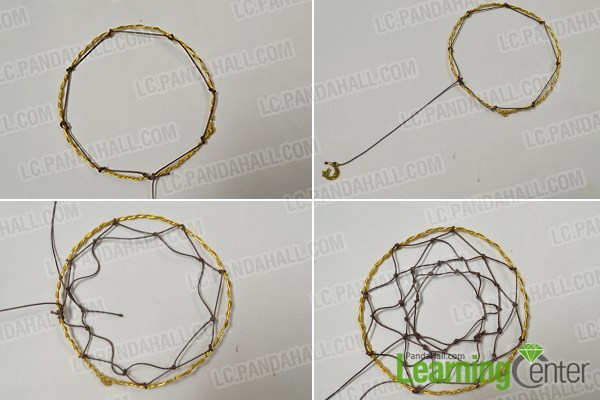 How To Make Dream Catchers Easy Custom How To Make A Simple Craft Dream Catcher By Yourself Pandahall