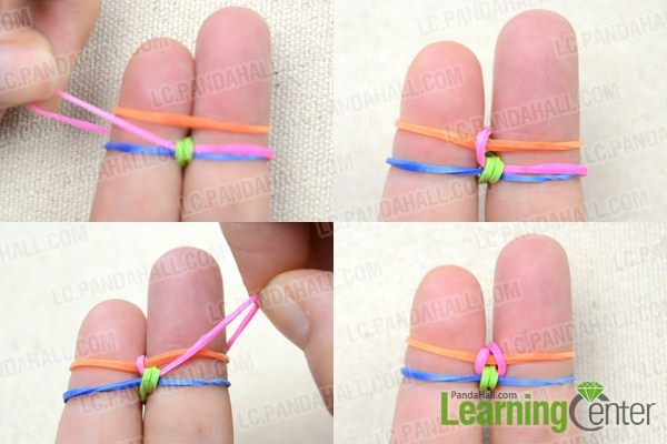 quicktolearn tutorial on making colorful fishtail loom