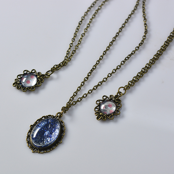 Pandahall tutorial on how to make vintage necklaces with tibetan vintage necklaces aloadofball Choice Image