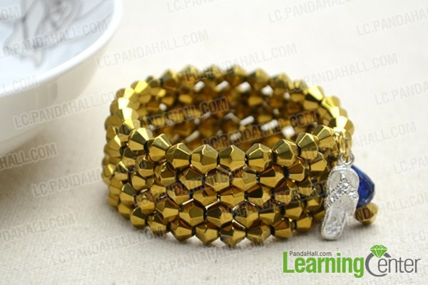 add charms to bangle