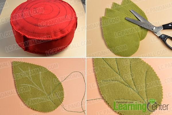Step 3: Make the leaves