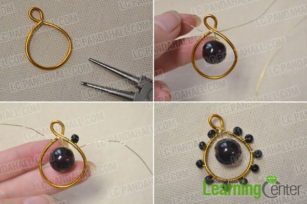 Make an inner layer pendent