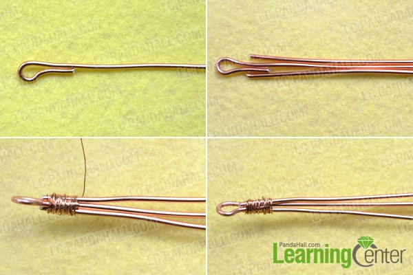 Start to DIY wire bangle bracelet